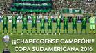 El Chapecoense, campeón de la Copa Sudamericana