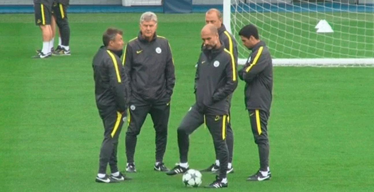 El City de Guardiola prepara el encuentro frente al Celtic