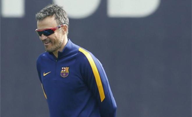Luis Enrique est� muy feliz en Barcelona y en el Bar�a