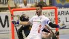 Lu�s Querido fue el verdugo del CP Vilafranca con un 'hat-trick'