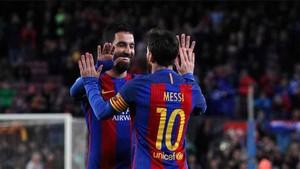 Messi habló de Arda Turan
