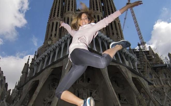 Natalia S�nchez adora hacer deporte y practica yoga y Pilates