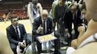 Pablo Laso, dando indicaciones a su equipo�durante un partido de la Euroliga