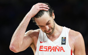 Pau Gasol no pudo evitar la derrota de España