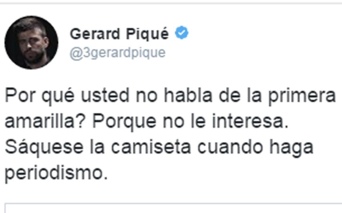 Piqu� deja a Pedro J. Ram�rez en evidencia