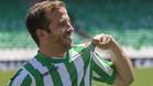 Rafael van der Vaart, presentado como jugador del Betis
