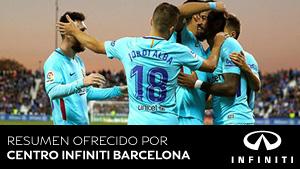 Vea los goles del Leganés - FC Barcelona (ES)