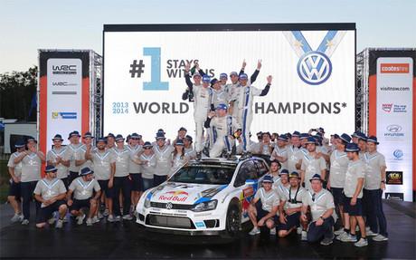 Volkswagen ha revalidado el t�tulo mundial de constructores