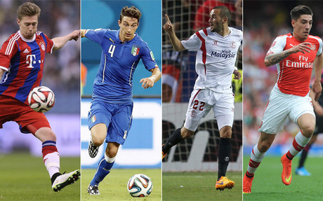 Weiser, Darmian, Aleix Vidal y Beller�n son posibles opciones para suplir a Dani Alves