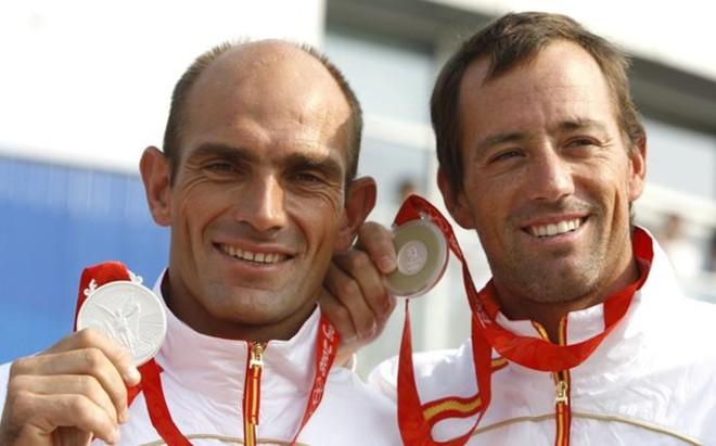 Xavier Fern�ndez (izquierda) tomar� parte en la Copa del Am�rica