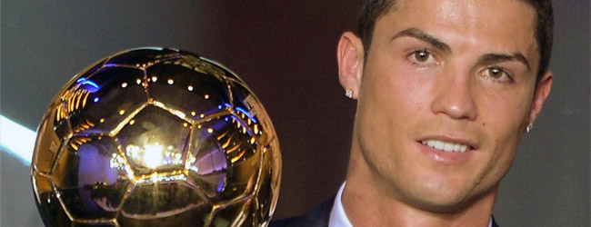 Cristiano Ronaldo, Bal�n de Oro 2013