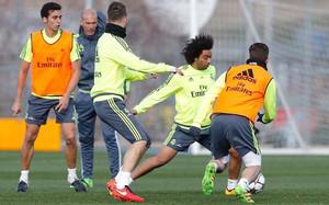 Marcelo volvió al trabajo con el grupo