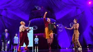 Cirque du Soleil protagonizó un sorteo único y espectacular de Copa Davis