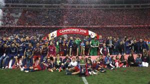 El Calderón fue la sede de la última final de Copa del Rey