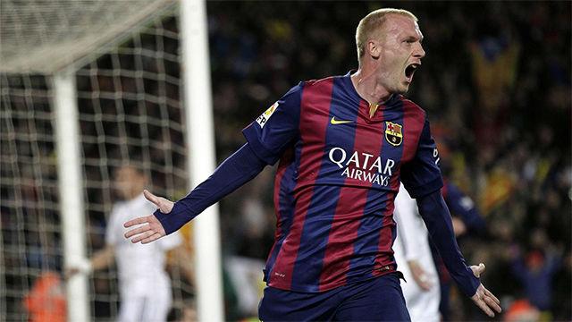 El mejor gol de Mathieu con la camiseta del Barça