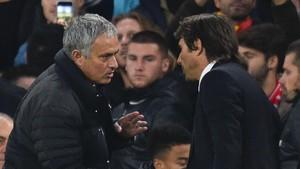 Mourinho y Conte mantienen diferencias desde hace tiempo