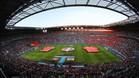 El Stade de Lyon albergó las semifinales de la Eurocopa 2016 entre Portugal y Gales