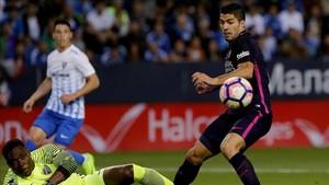Luis Suárez espera batir de una vez por todas al Málaga