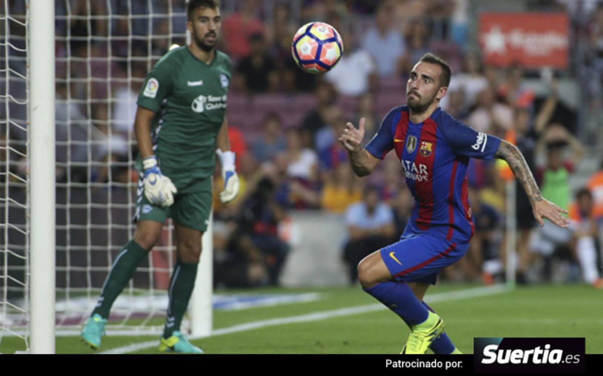 El Barça se queda tieso ante el Alavés