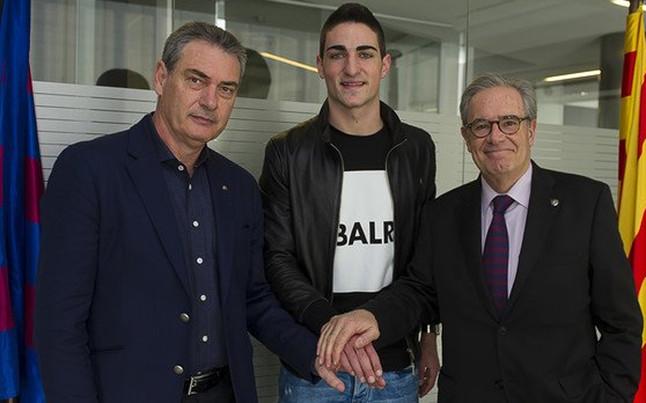 El FC Barcelona hace oficial el fichaje de Borja L�pez para el filial