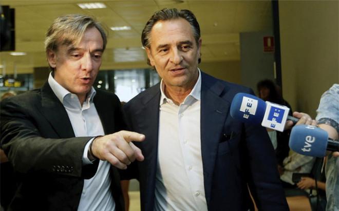 Cesare Prandelli ya est� en Valencia