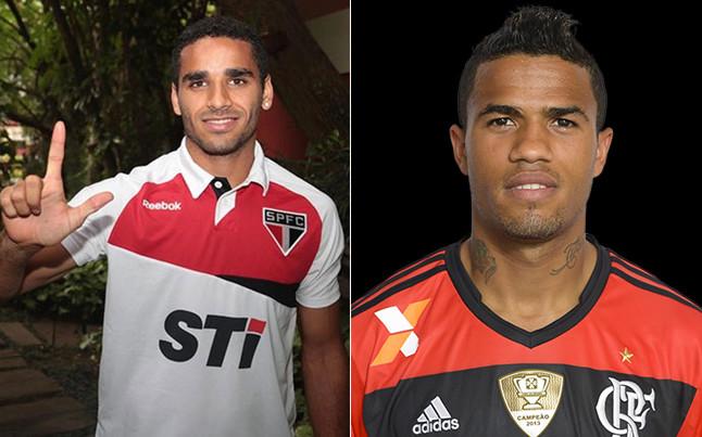 Douglas y L�o, samba para el lateral