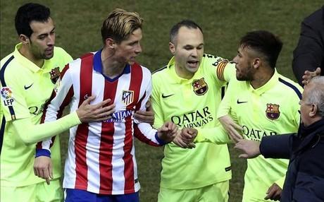 Fernando Torres mantuvo un cruce dial�ctico con Neymar