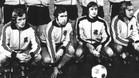 Keizer, el primero por la izquierda, junto a Pahlplatz, Cruyff y Neeskens