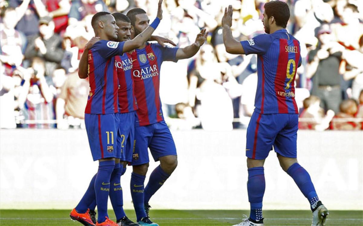 Resumen y goles del FC Barcelona 4-0 Deportivo de la jornada 8