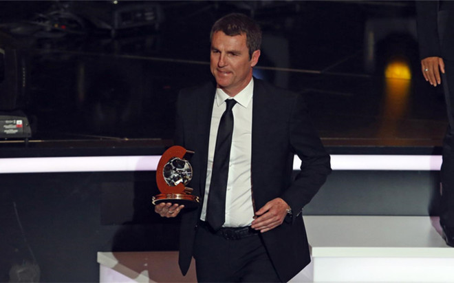 Robert Fern�ndez, director deportivo del Bar�a
