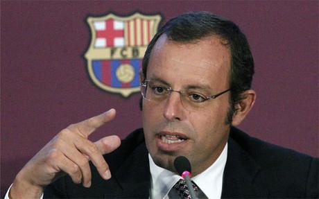 Sandro Rosell, acusado de espionaje