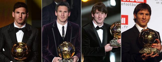 Leo Messi conquistó su cuarto Balón de Oro