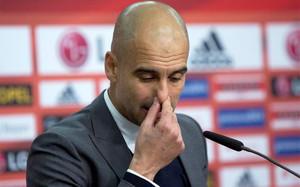 Guardiola está sufriendo críticas en Alemania