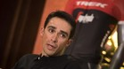 Alberto Contador, motivado en el Trek