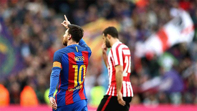 Video resumen FC Barcelona - Athletic Club (3-0). Jornada 21, Liga Santander 16-17
