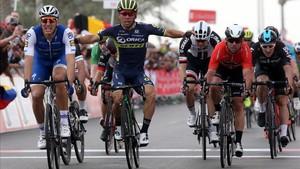 Kittel igualó a Cavendish