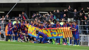 El Barça B se proclamó campeón de Segunda B