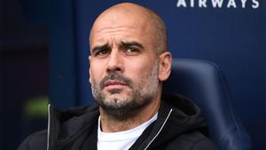 Pep Guardiola atribuyó a su plantilla el mérito de ser mejor entrenador del mes