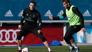 Bale ha participado en el entrenamiento
