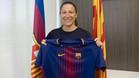 Bussaglia ya ha posado con la camiseta del FC Barcelona