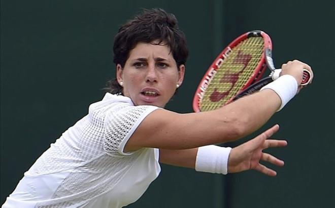 Carla Su�rez tuvo que remontar para acceder a tercera ronda en Wimbledon