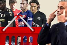 La cesta de la compra de Mourinho