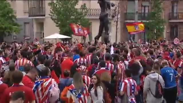 Las aficiones, listas para seguir la gran final desde Madrid