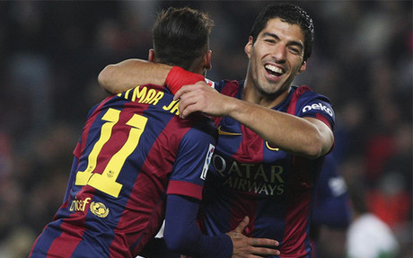 Neymar y Suárez ya tienen su primera Champions League