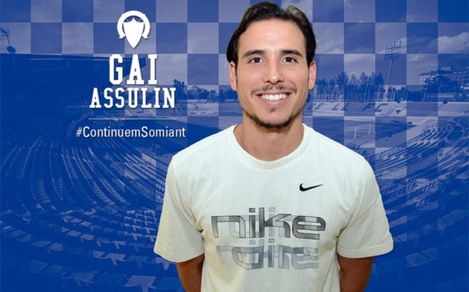 El Sabadell dio la bienvenida a Gai Assulin