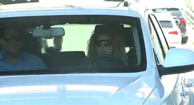 Shakira visita a Piqué en la Ciutat Esportiva
