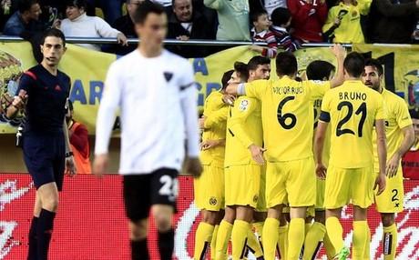 Soldado dio el triunfo al Villarreal