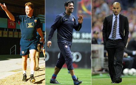 Van Gaal, Rijkaard y Guardiola debutaron con victoria