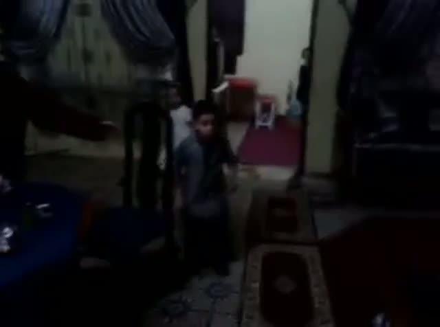 Walid se emocion� cuando vio la dedicatoria de Messi