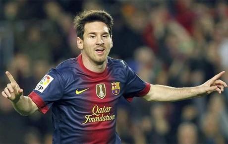 Messi ya ha celebrado 80 goles este año y quiere más